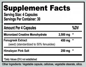 BioCreatine Ingredients