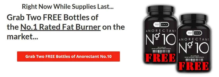 Test Stack Rx Anorectant No. 10 - The Amazing Nootropic Fat-Burner! 3