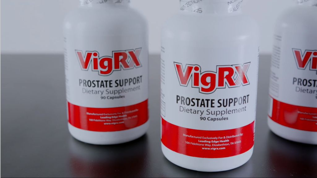 Prostate Supplement Bottles