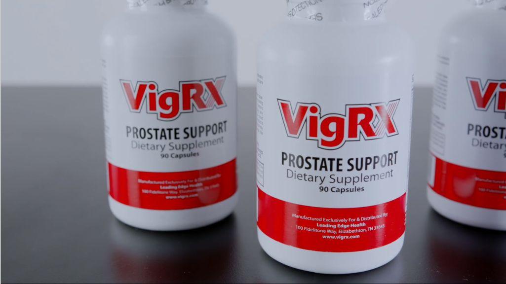 Prostate Supplement Bottles