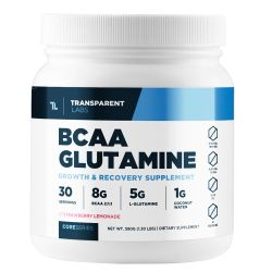 Transparent Labs BCAA Container