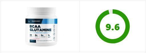 Transparent Labs BCAA Glutamine Rating