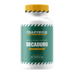Decaduro bottle front view