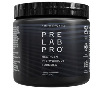 Pre Lab Pro container on white background