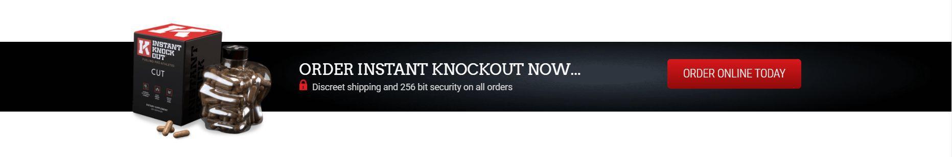Instant Knockout Packaging on Black Background
